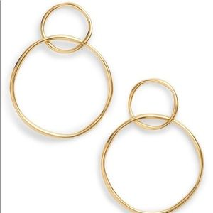 Linked Gold Earrings